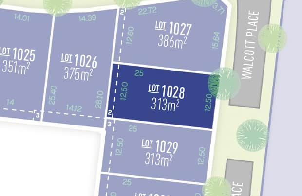 Anchoridge Lot 1028 for sale on Sorell Release B