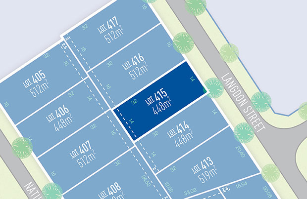 Anchoridge Lot 415 for sale on Langdon Release B