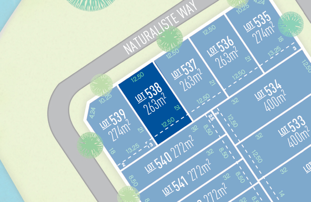 Anchoridge Lot 538 for sale on Wetlands Release B
