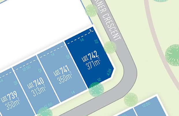 Anchoridge Lot 742 for sale on Fawkner Release B