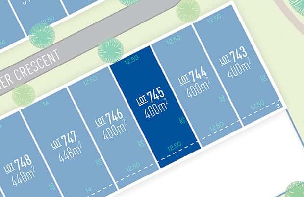 Anchoridge Lot 745 for sale on Fawkner Release B