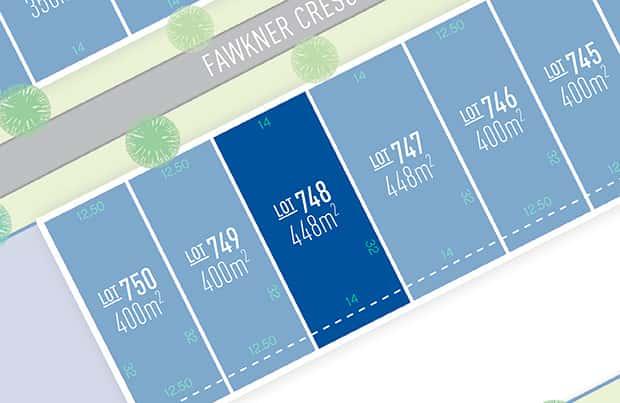 Anchoridge Lot 748 for sale on Fawkner Release B